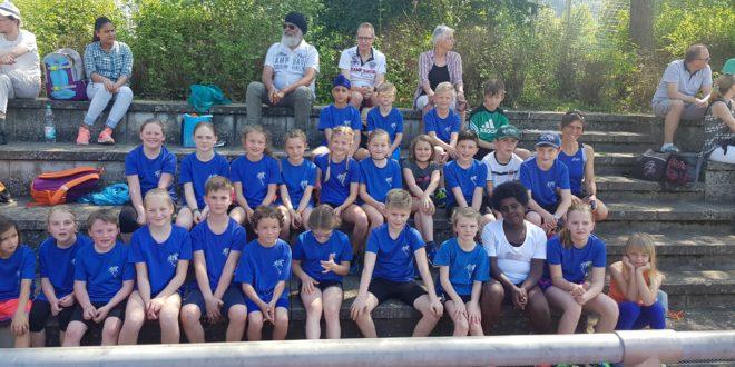 Erster Bahnwettkampf für Endinger Leichtathletik- Nachwuchs