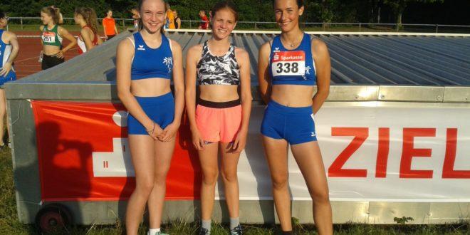 Drei Athletinnen des TVE nehmen am Sparkassenmeeting in Emmendingen teil